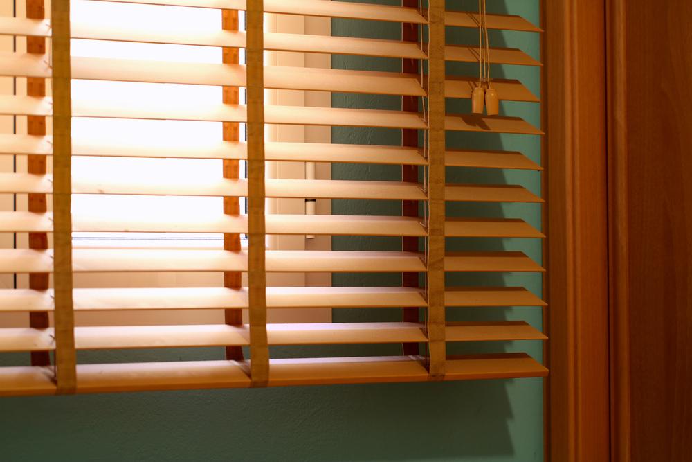 natural wooden venetian blinds