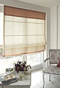 roman blinds bifold doors
