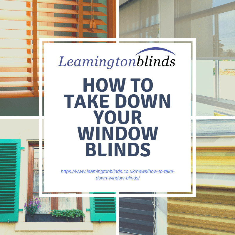 How To Take Down Your Window Blinds Full Guide